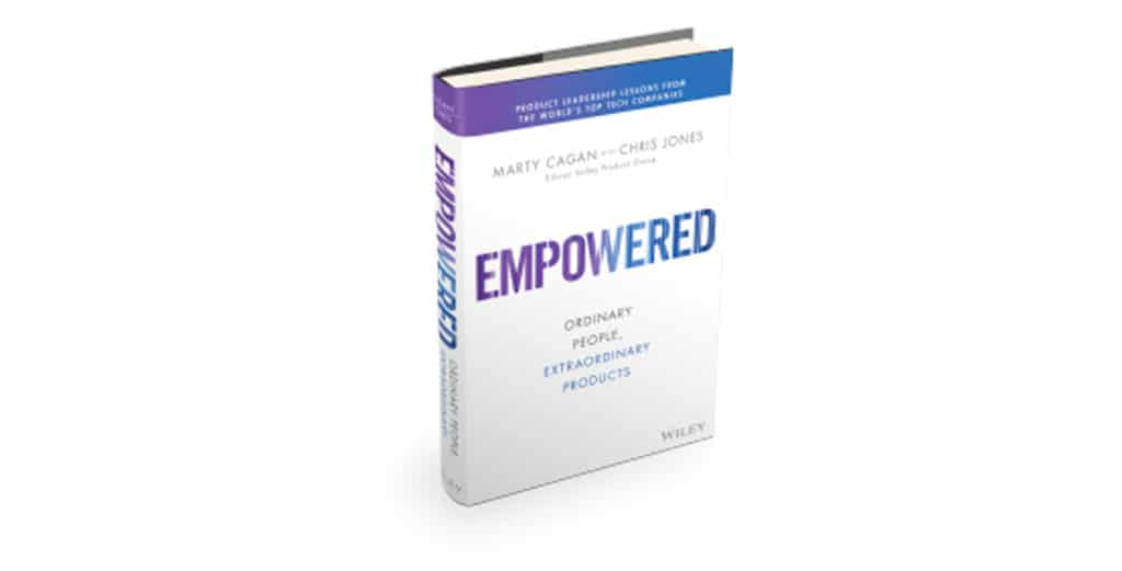 Livre empowered Marty Cagan