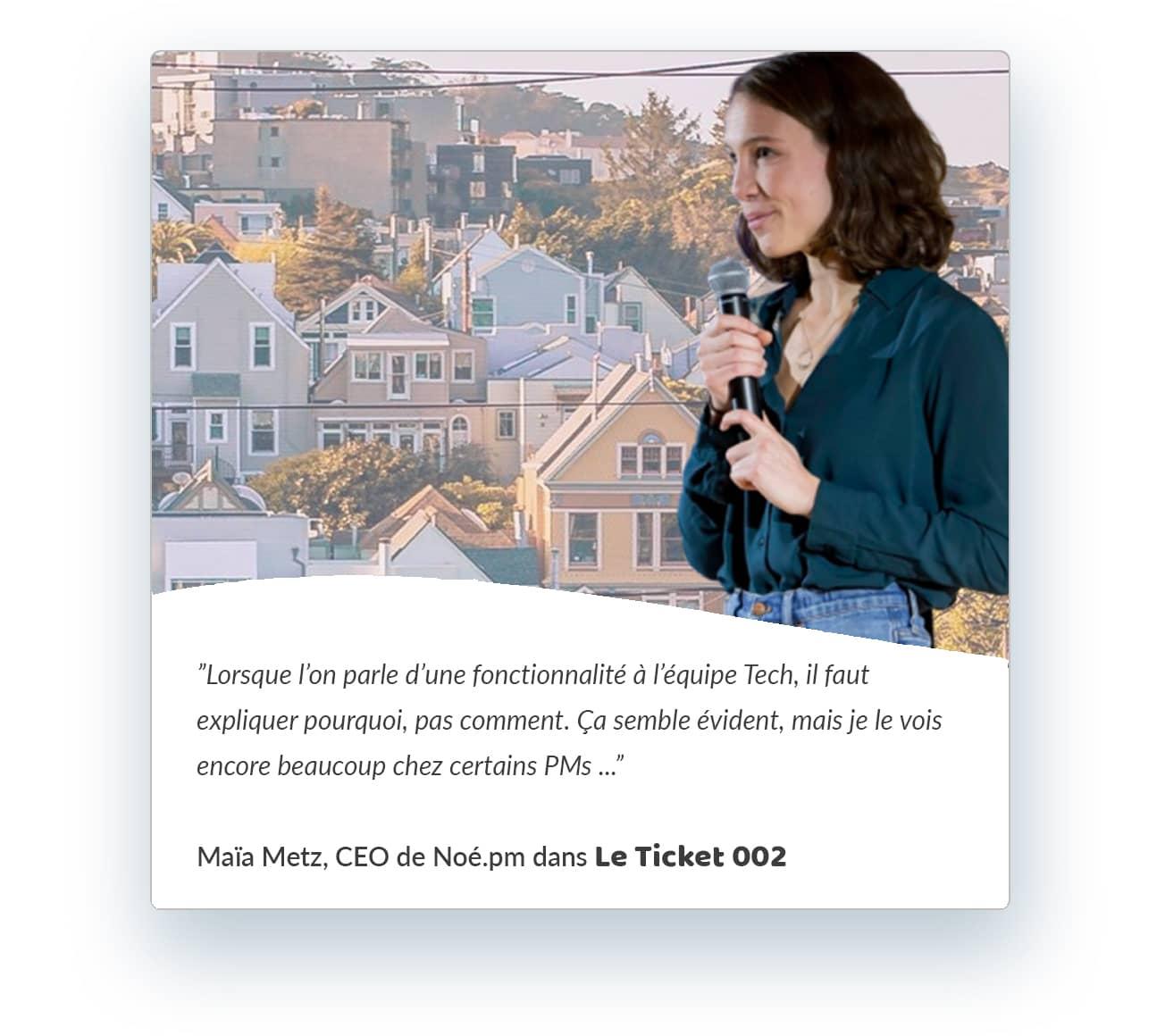 Interview Maia Metz Noe