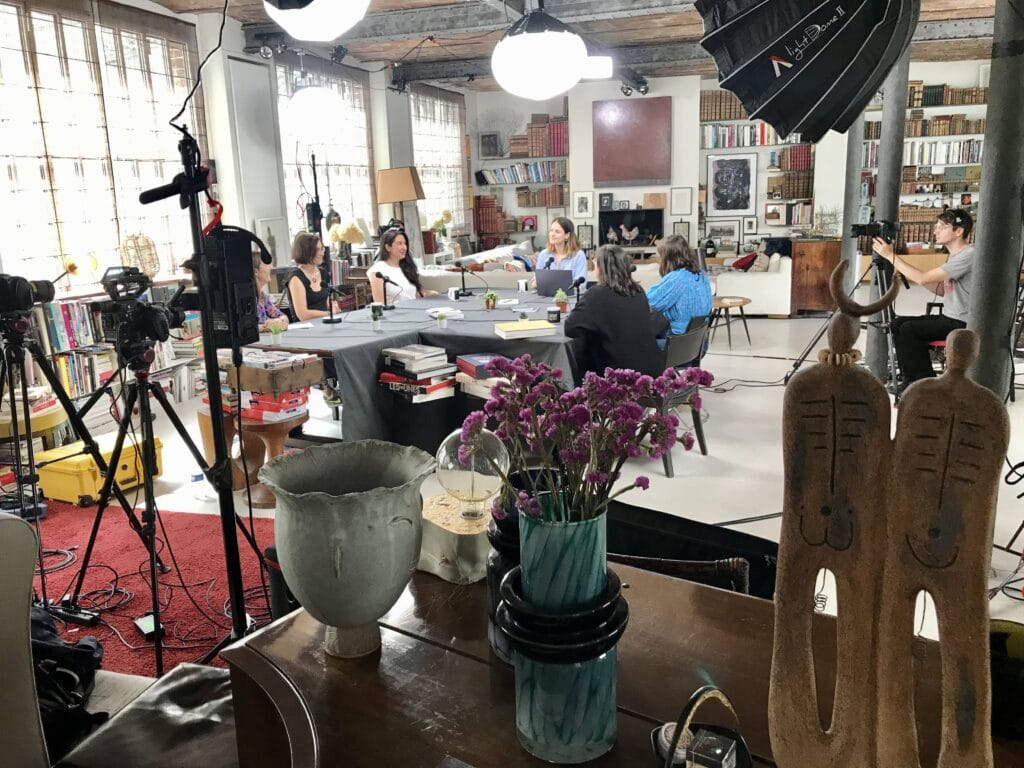 estelle auboin (Product Tape), Sophie Muto (ManoMano), Celia Hodent, Marine Bonlieu (Wivoo), Chloé Hermary (AdaTech) after produit, romaissa Cherbal -Leboncoin)